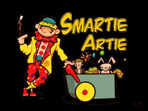 Children's entertainers,Smartie Artie parties